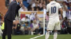 James y Zidane - Real Madrid