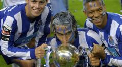 James, Falcao y Guarín en Porto