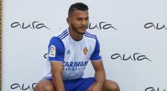 Colombiano Luis Suárez, futbolista de Real Zaragoza