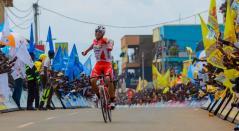 Jhonatan Restrepo ganó segunda etapa del Tour de Ruanda
