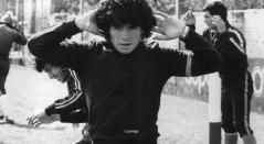 Diego Maradona, cuando era juvenil en Argentina