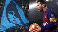 Messi jugará en el San Paolo, tierra de Diego Maradona