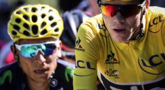 Nairo Quintana vs Chris Froome