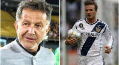 Juan Carlos Osorio y David Beckham