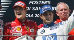Michael Schumacher, Juan Pablo Montoya