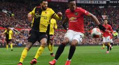 Manchester United goleó al Watford