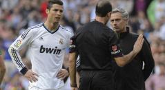 Mourinho y Cristiano Ronaldo en Real Madrid