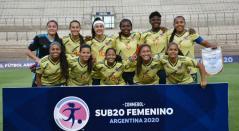 Selección Colombia sub 20 femenina