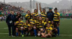 Selección Colombia Femenina de Rugby