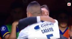 Miguel Ángel Russo y Andrés Cadavid