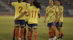 Selección Colombia sub 20 femenino