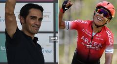 Alberto Contador, Nairo Quintana