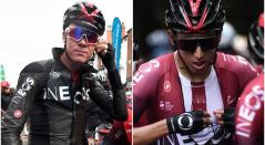 Chris Froome y Egan Bernal, Team Ineos