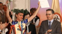 María Luisa Calle recuperó la medalla de bronce de Atenas 2004