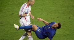 Zidane y Materazzi