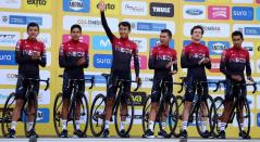 Team Ineos en el Tour Colombia 2020