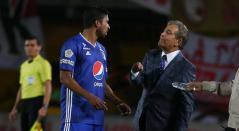 Christian Marrugo y Jorge Luis Pinto en Millonarios 2019