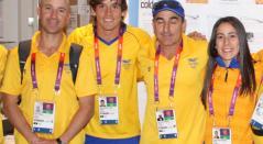 Germán Medina, entrenador de BMX
