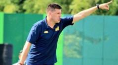 Juan Cruz Real, técnico argentino