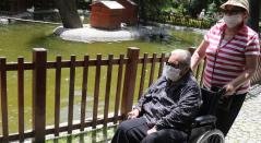 Ancianos abuelos tercera edad