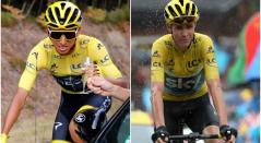Egan Bernal, Chris Froome