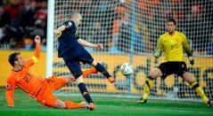 Iniesta, gol de España ante Países Bajos en la final