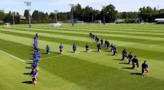 Protesta pacífica de jugadores del Chelsea contra el racismo