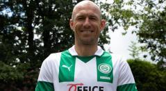 Robben llega al FC Groningen de Países Bajos