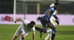 Duván Zapata, Atalanta vs Milán