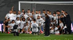 Real Madrid campeón de la Liga Española 2020