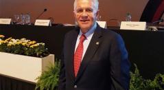 Carlos Padilla, presidente del Comité Olímpico Mexicano