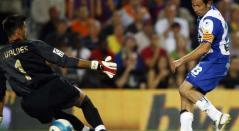 Gol de Tamudo al Barcelona