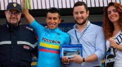 Juan Diego Alba, ciclista colombiano del Movistar