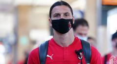 Zlatan regresó al Milán