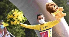 Daniel Felipe Martínez, ciclista colombiano campeón del Critérium del Dauphiné