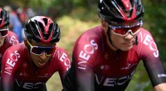 Egan Bernal y Chris Froome