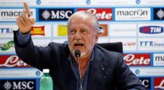 De Laurentiis, presidente del Napoli