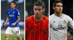 James Rodríguez: Everton, Envigado y Real Madrid