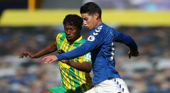 Everton, James Rodríguez