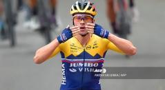 Primoz Roglic, ciclista del Jumbo Visma