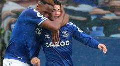 James Rodríguez, Everton, Yerry Mina