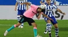 Barcelona vs Alavés, liga española