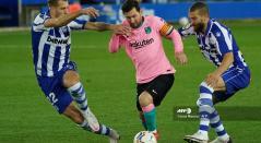Alavés vs Barcelona, liga española