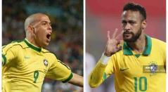 Ronaldo y Neymar - Brasil