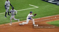 Rays y Dodgers disputan la Serie Mundial