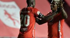 Adrián Ramos y MalonTorres, jugadores del América de Cali