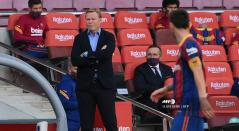 Ronald Koeman y Messi