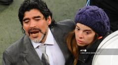 Diego y Dalma Maradona