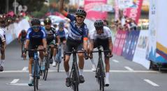 Juan Pablo Suárez ganó la etapa 9 de la Vuelta a Colombia