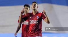 Rafael Santos Borré y Jorge Carrascal - River Plate